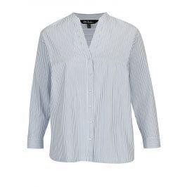 Modro-bílá pruhovaná košile Ulla Popken