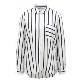 Modro-bílá pruhovaná košile ONLY Sugar