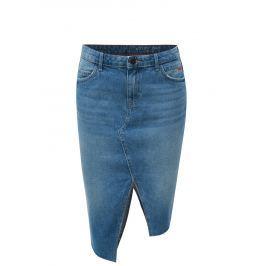 Modrá asymterická džínová sukně Noisy May Rene