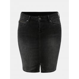 Černá džínová sukně Pepe Jeans