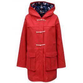 Červená nepromokavá lehká bunda s kapucí Cath Kidston