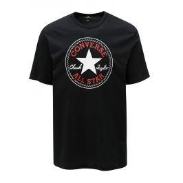 Černé pánské tričko s potiskem Converse Core Chuck