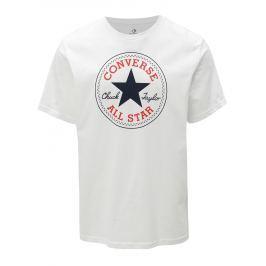 Bílé pánské tričko s potiskem Converse Core Chuck