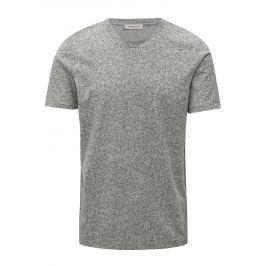 Šedé vzorované tričko Selected Homme Raul