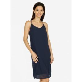 Tmavě modré šaty na ramínka VERO MODA Diana