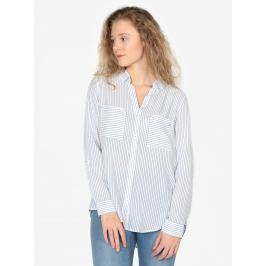 Modro-bílá dámská pruhovaná košile s kapsami s.Oliver