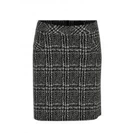Bílo-černá kostkovaná sukně Dorothy Perkins