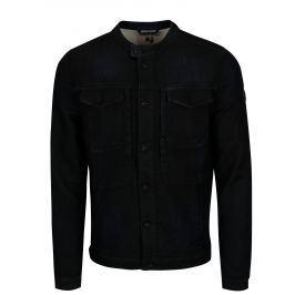 Tmavě modrá pánská džínová bunda Garcia Jeans