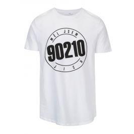 Bílé pánské tričko s potiskem ZOOT Original 90210