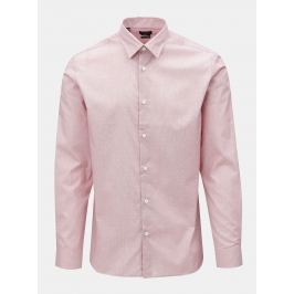 Růžová regular fit košile Selected Homme