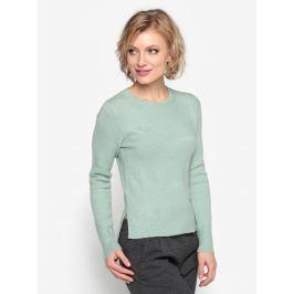 Zelený svetr s kulatým výstřihem Oasis The perfect