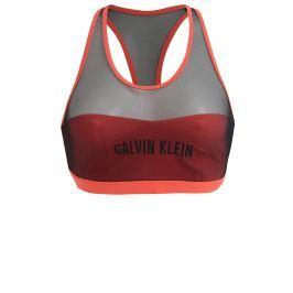 Neonově růžový horní díl plavek Calvin Klein
