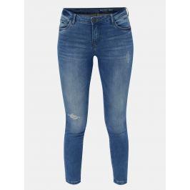 Modré skinny fir džíny Noisy May