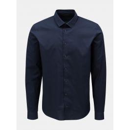 Tmavě modrá slim fit košile Casual Friday by Blend