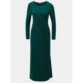 Zelené maxišaty s dlouhým rukávem Dorothy Perkins Petite