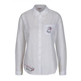 Bílá dámská košile s výšivkami Cath Kidston