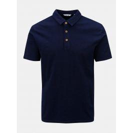 Tmavě modré polo tričko ONLY & SONS