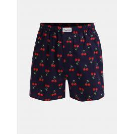 Modré trenýrky Happy Socks Cherry