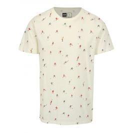 Krémové tričko s potiskem Dedicated Futbol