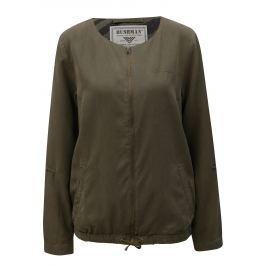 Tmavě zelená dámská lehká bunda BUSHMAN Espanola