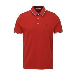 Červené polo tričko Jack & Jones Paulos Play