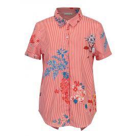Krémovo-červená košile s překříženým zadním dílem Noisy May Conansa
