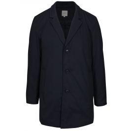 Tmavě modrý kabát s odnímatelným límcem Jack & Jones Tristan
