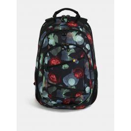 Černý vzorovaný batoh na notebook 15,6