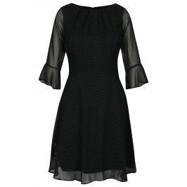 Černé puntíkované šaty Billie & Blossom