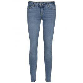 Světle modré slim džíny s nízkým pasem Noisy May Eve Dámské kalhoty