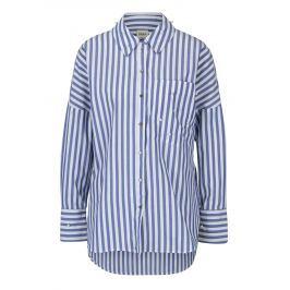 Bílo-modrá pruhovaná košile ONLY Melrose Dámské halenky a košile
