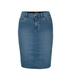 Modrá džínová skinny fit sukně ONLY Rain Dámské sukně