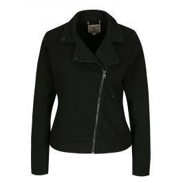 Černý dámský mikinový křivák Garcia Jeans Dámské bundy a kabáty