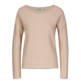 Růžový dámský svetr s knoflíky na zádech Garcia Jeans Serena Dámské svetry, roláky a pulovry