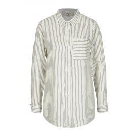 Krémová dámská vzorovaná košile Garcia Jeans Dámské halenky a košile