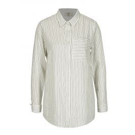 Krémová dámská vzorovaná košile Garcia Jeans