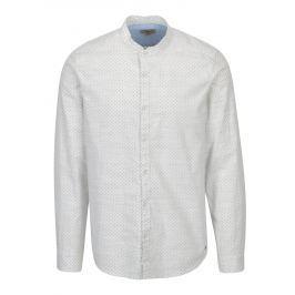 Krémová pánská vzorovaná košile Garcia Jeans Heren Pánské košile
