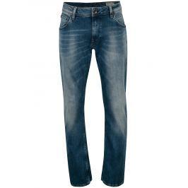 Modré pánské straight džíny Garcia Jeans Russo Pánské kalhoty