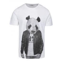 Bílé tričko s potiskem ONLY & SONS Simon Pánská trička