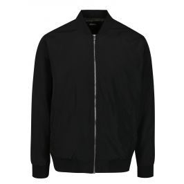 Černý pánský bomber Burton Menswear London   Pánské bundy a kabáty
