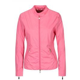 Růžová dámská lehká bunda Geox   Dámské bundy a kabáty