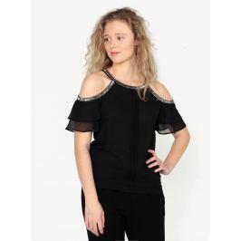 Černý top s korálkovými detaily Oasis Cami Dámské halenky a košile