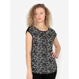 Černá květovaná třpytivá halenka Oasis Nottingham Dámské halenky a košile