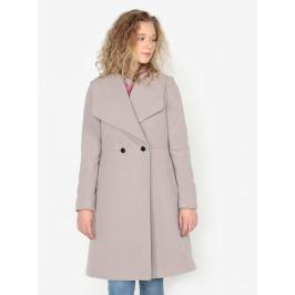 Světle šedý kabát s kapsami Oasis Lily Dámské bundy a kabáty