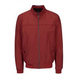 Cihlová pánská bunda Geox   Pánské bundy a kabáty