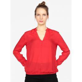 Červená dámská halenka s.Oliver Dámské halenky a košile