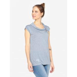 Modré tričko s krátkým rukávem Ragwear Lorna  Dámská trička