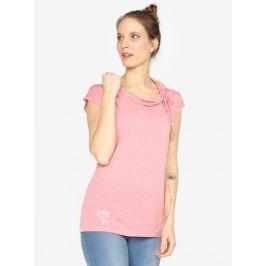 Růžové tričko s krátkým rukávem Ragwear Lorna  Dámská trička