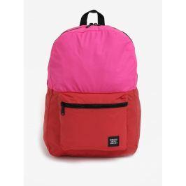 Růžovo-červený reflexní batoh Herschel Packable Daypack 24,5 l Batohy