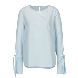 Světle modrá halenka se zvonovými rukávy VILA Jenner  Dámské halenky a košile